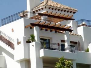Penthouse med udsigt