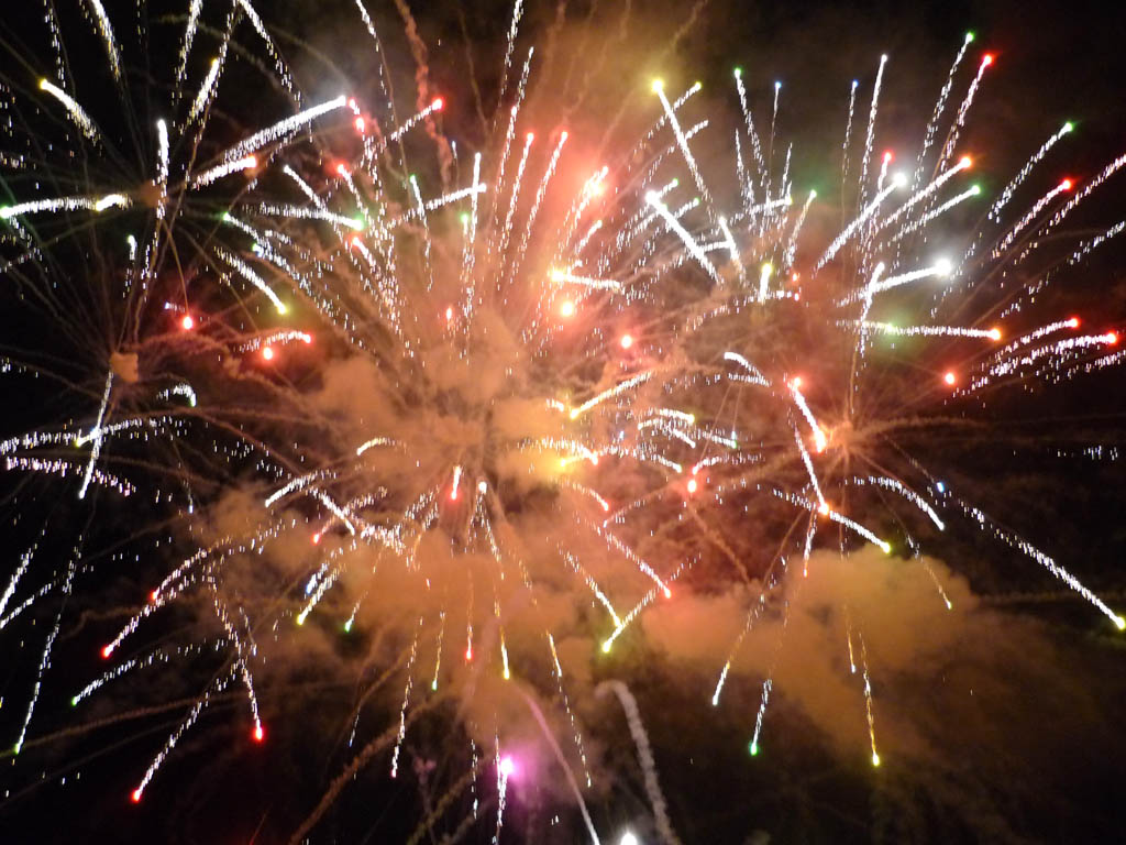 Marbella fireworks